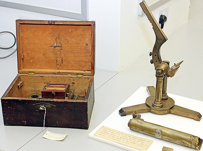 Microscope designed by John Thomas Quekett