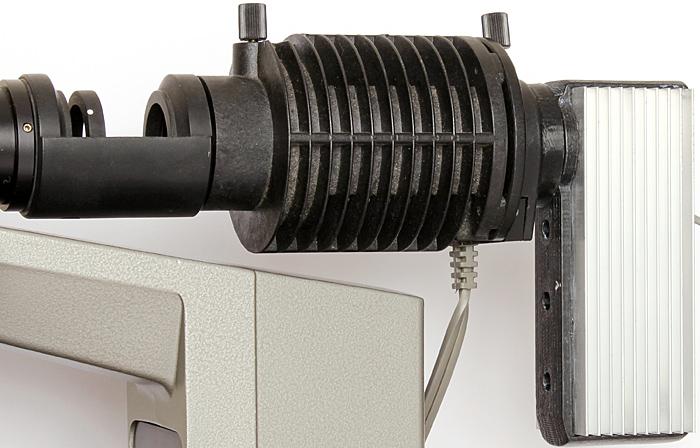 LED conversion of Olympus BH-RLA vertical illuminator