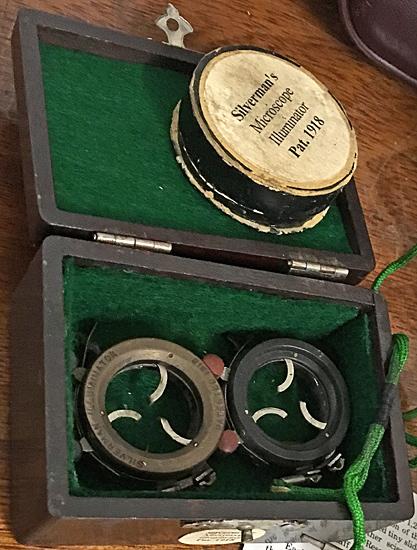Silverman's Microscope Illuminator