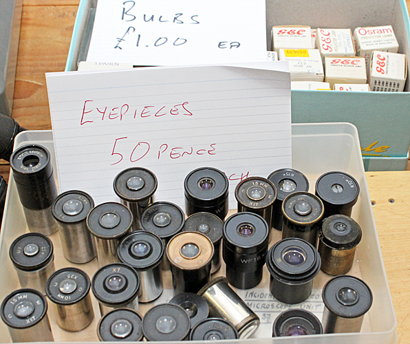 Bulbs and eyepieces