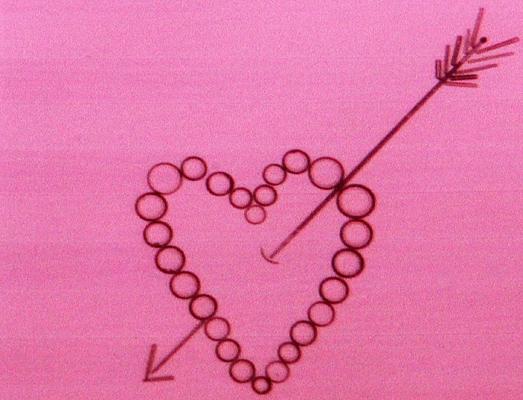 Valentines diatom arrangement by Klaus Kemp