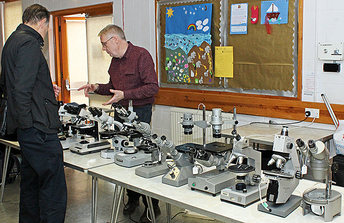 Paul Wheatley's used microscopes for sale