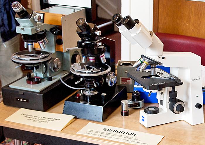 Watson-Swift polarising microscopes