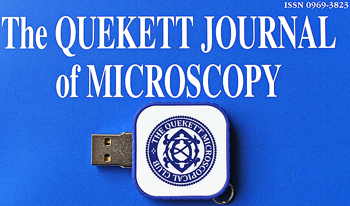 USB memory stick containing the Journal