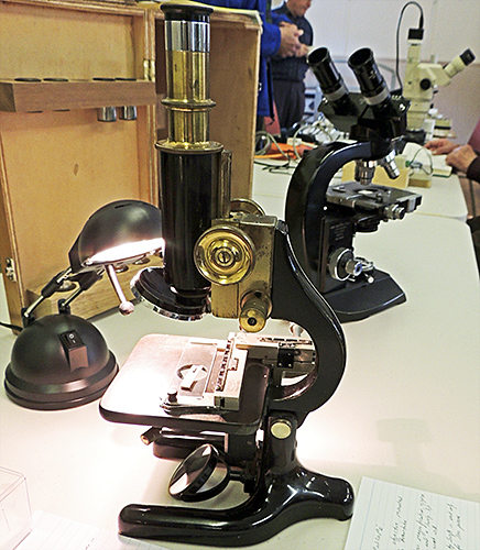 Prior microscope with 3″ Swift objective