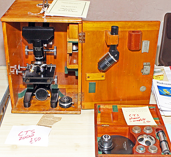 Cooke, Troughton & Simms M2000 microscope