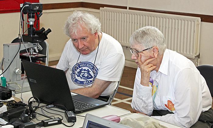 Graham Matthews and Anne Algar