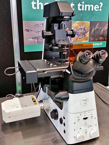 Nikon inverted microscope