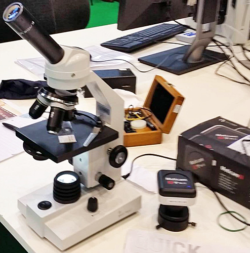 BMS 10001RMS monocular microscope