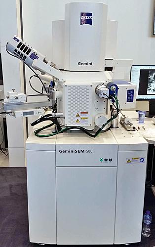 Zeiss Gemini SEM 500 scanning-electron microscope