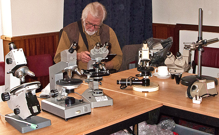 Paul Wheatley's used microscopes for sale