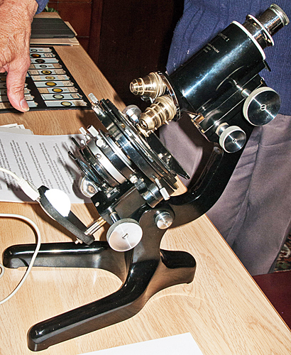Watson Service microscope