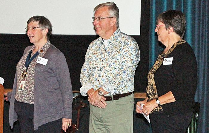 Joan Bingley, Willem Cramer and Dora de Cremer