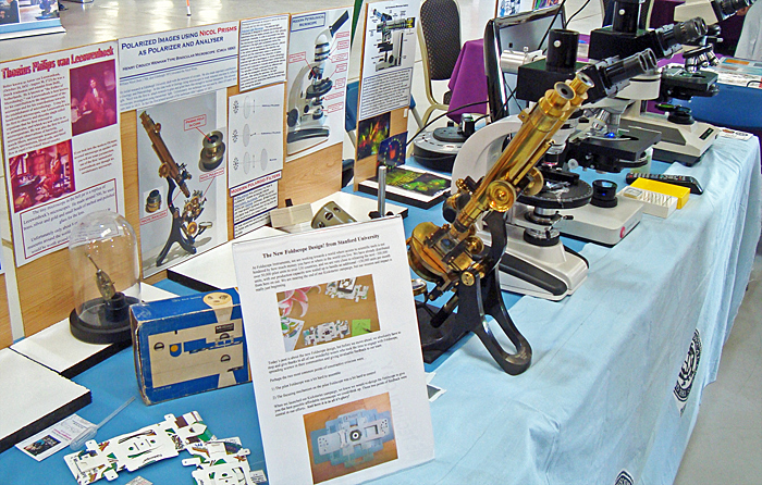 Microscopes through the ages