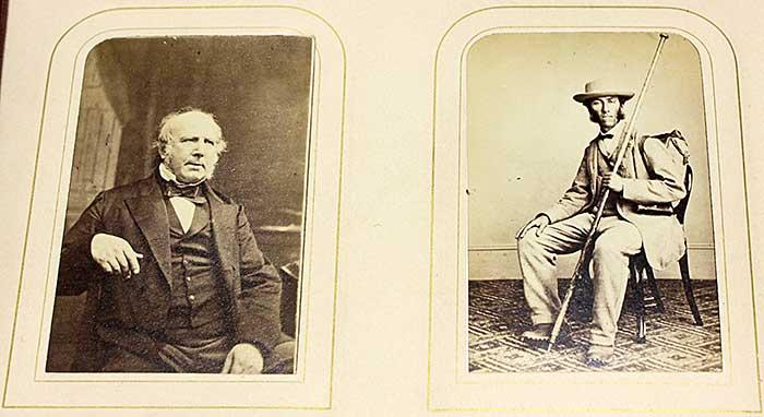 Photographs of members (circa 1870)