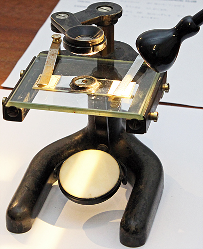 Simple microscope by Baker