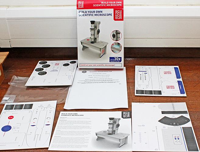 Science Museum microscope kit