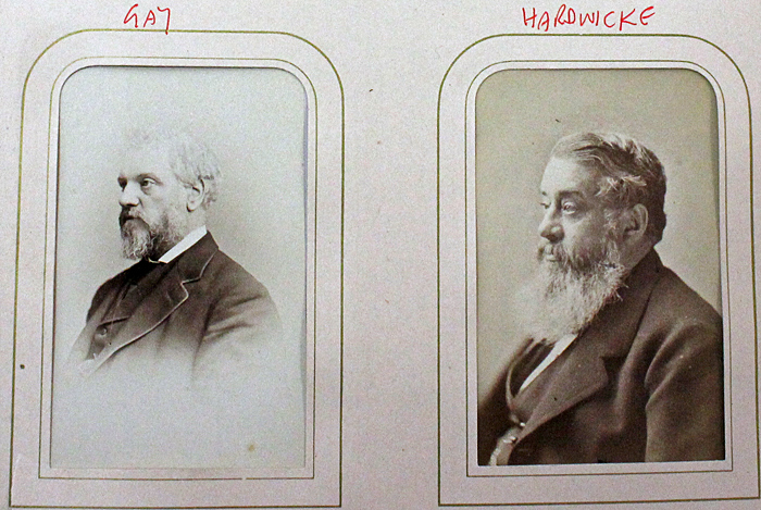 Photographs of Gay and Hardwicke