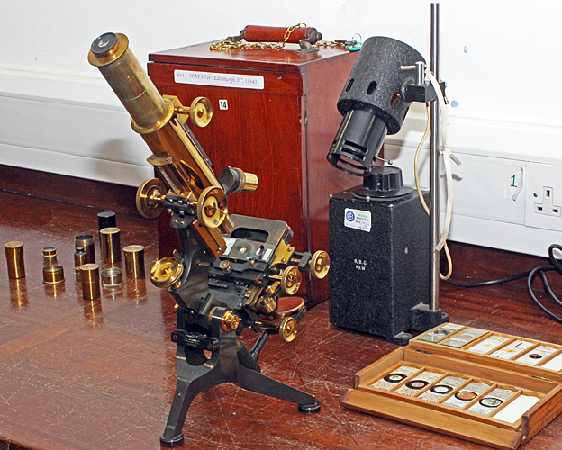 Watson Edinburgh H microscope