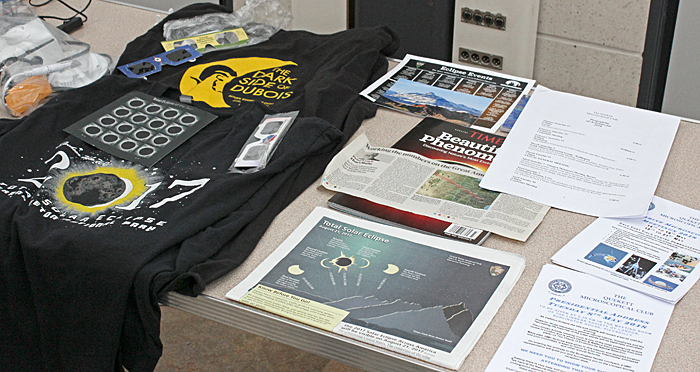 Solar eclipse souvenirs and literature