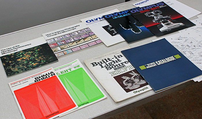 Olympus catalogues and manuals