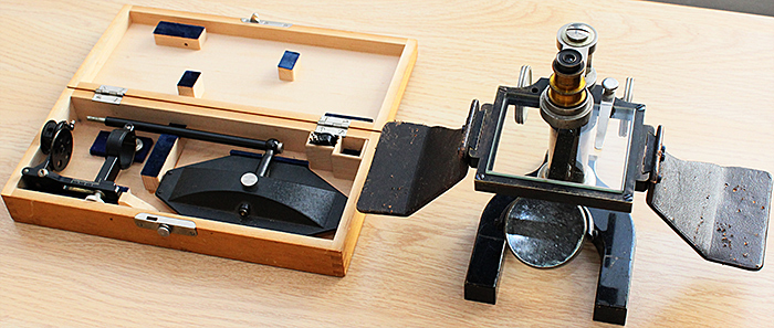 Camera lucida and simple microscope