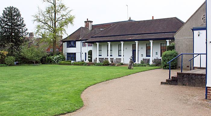 Garden behind Haslemere Museum