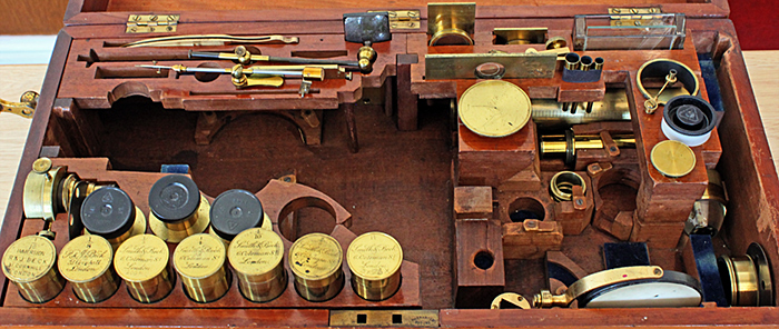 Accessories for John Ward's microscope