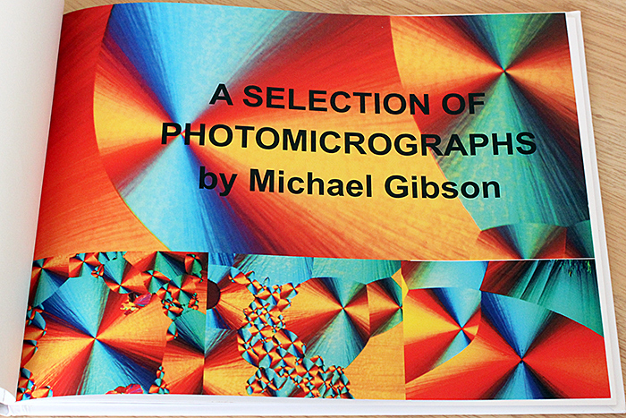 Book of Mike Gibson's photomicrographs