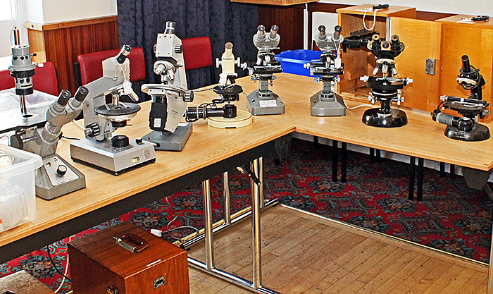 Paul Wheatley's microscopes