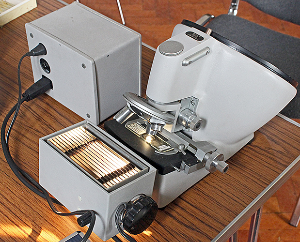 Reichert projection microscope
