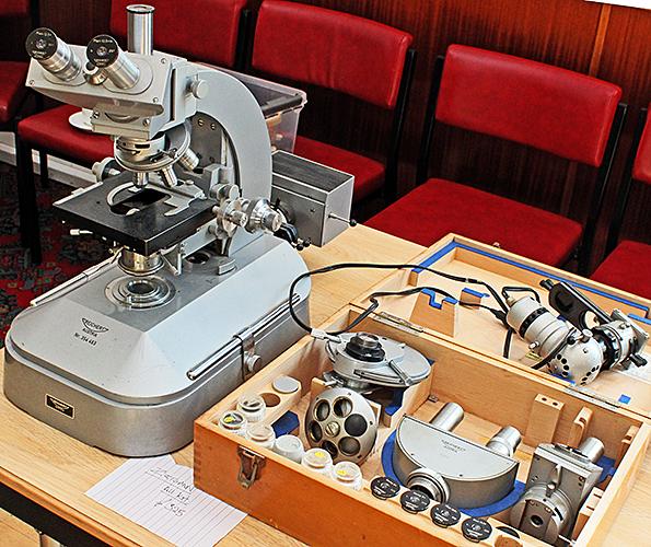 Reichert Zetopan microscope outfit