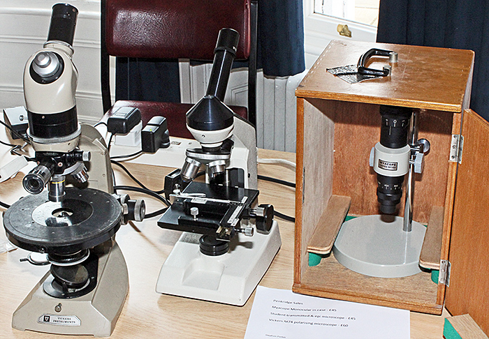 Stephen Parker's microscopes
