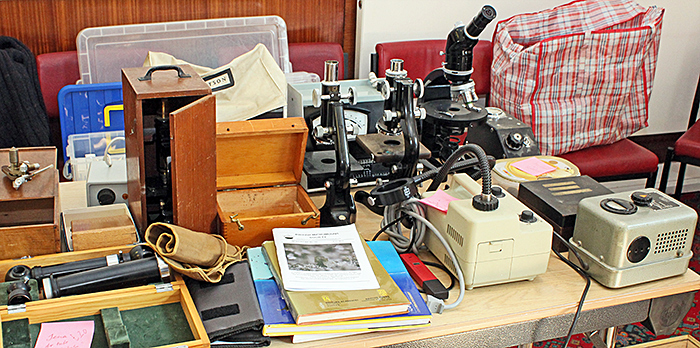Steve Edgar's microscopes and accessories