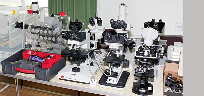 John Millham's microscopes for sale