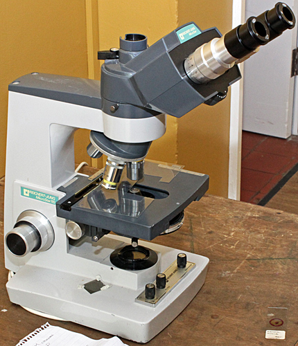 Les Larkman's microscope