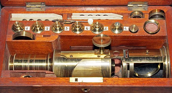 Drum microscope