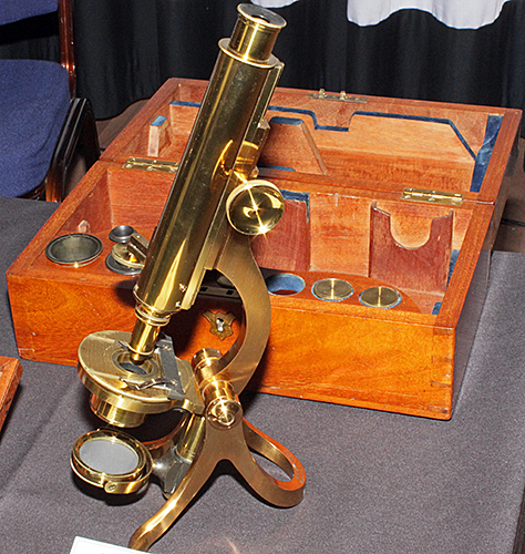Mawson & Swan microscope