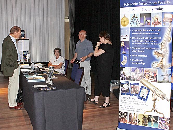 Scientific Instrument Society stand