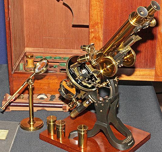 J. Swift Paragon Wenham binocular microscope