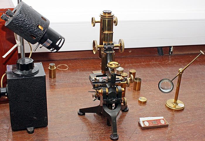 Watson Edinburgh microscope