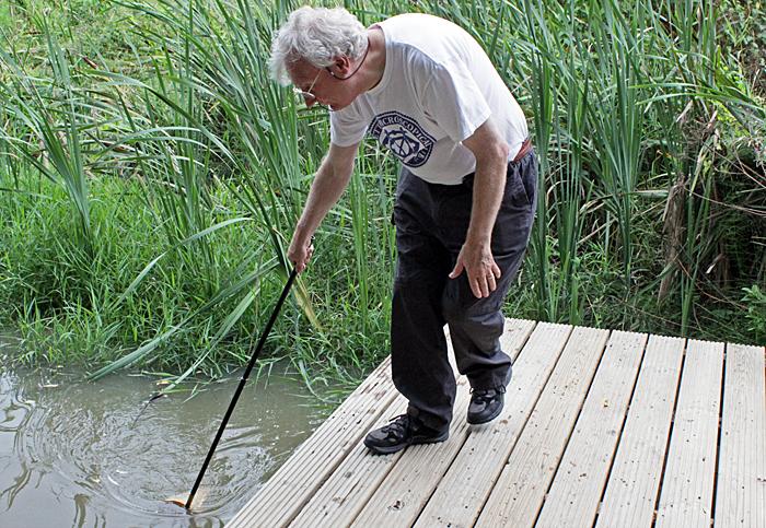 Graham Matthews pond dipping