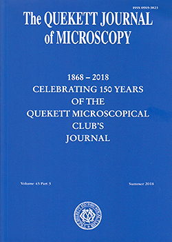 Front cover of Journal 2018 Summer