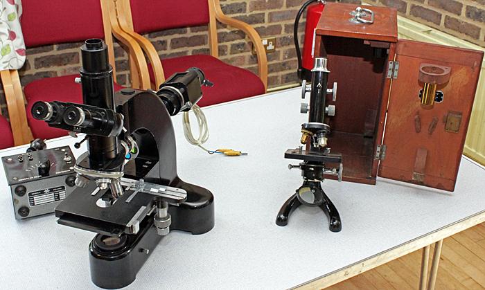 Chris Green's microscopes