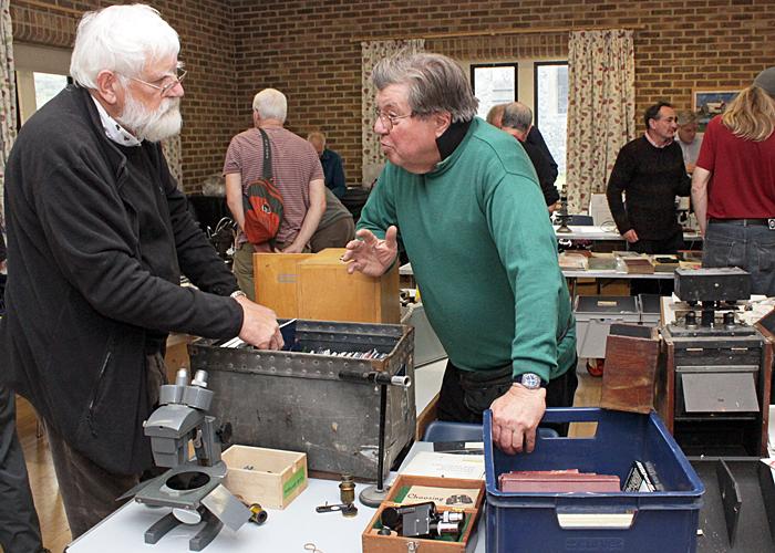 Desmond Squire and Nigel Parkinson