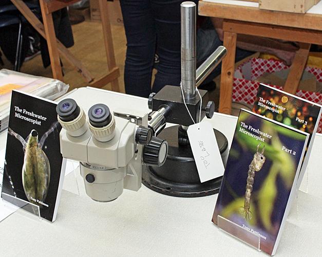 Jacky McPherson's stereomicroscope