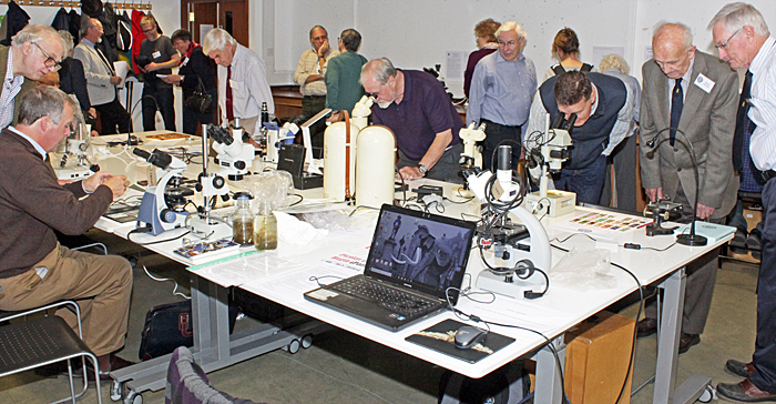 Members in the Demonstration Room