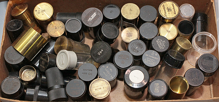 Phil Greaves' empty canisters