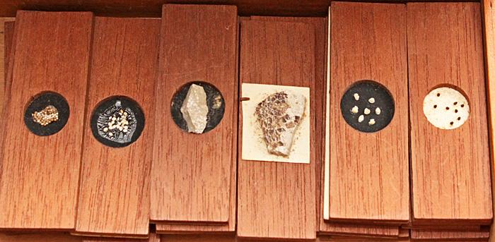 Wooden slides