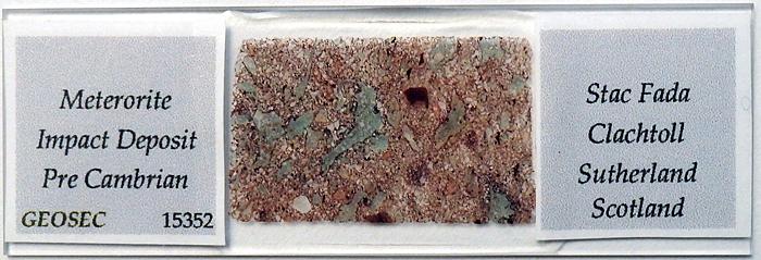 Meteorite impact deposit